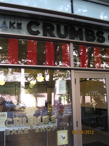 4/19/12: In the District: Crumbs cupcakery, just like NYC.