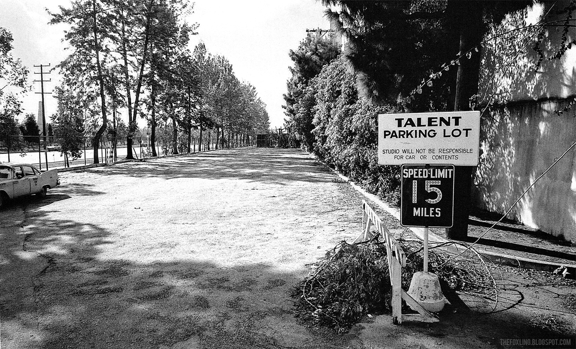 Empty Talent Parking Lot