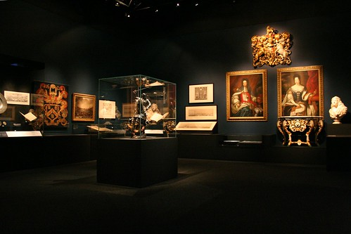 First room of exhibits