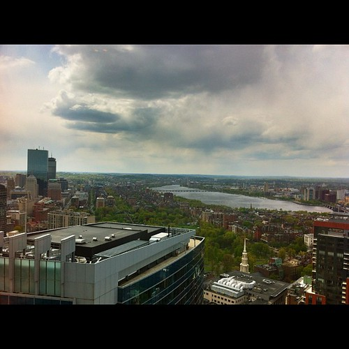 The view from lunch (yesterday) by stevegarfield