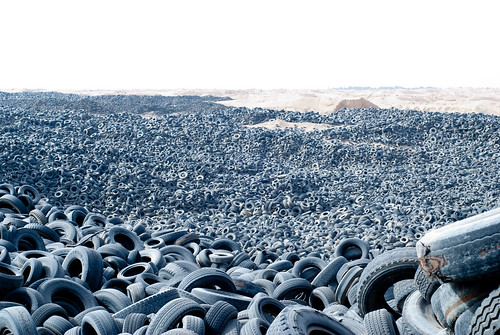 Miles of tires