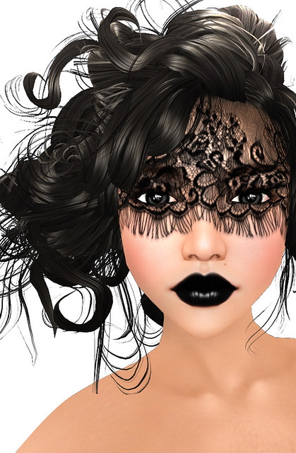 Lace Masquerade Make-Up (Summer of Beauty Festival)