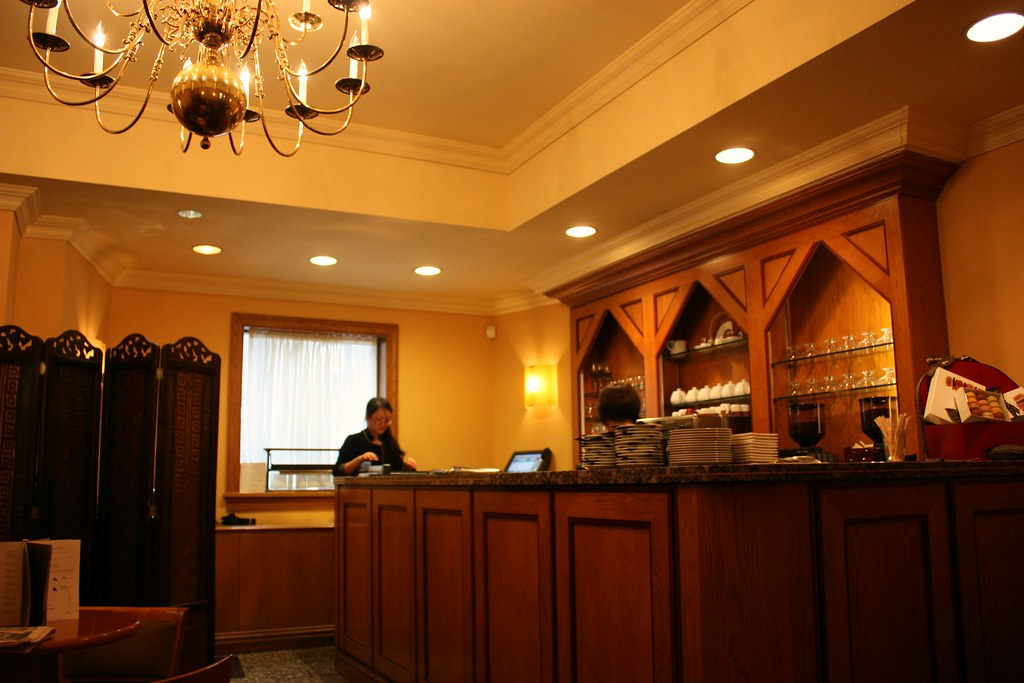 La Maison du Chocolat cafe Interior