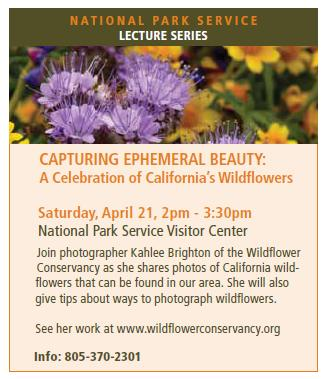 Upcoming Presentation for the National Park Service