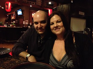 Nick and Sheri at Samurai