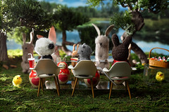 Easter Bunny Auditions