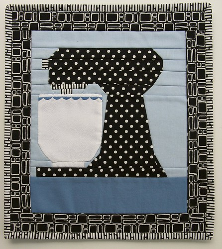 Kitchen Aid Mixer Mini Quilt