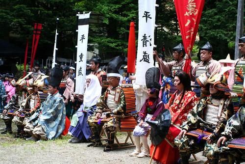 【湯西川温泉 平家大祭2012】