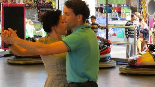 Tango vs. scooter