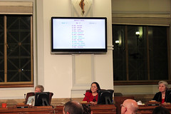 City Council defeats an amendment that required sufficient shelter beds before enforcement of the ordinance - Urban Camping Ban Public Hearing - 4/30/2012