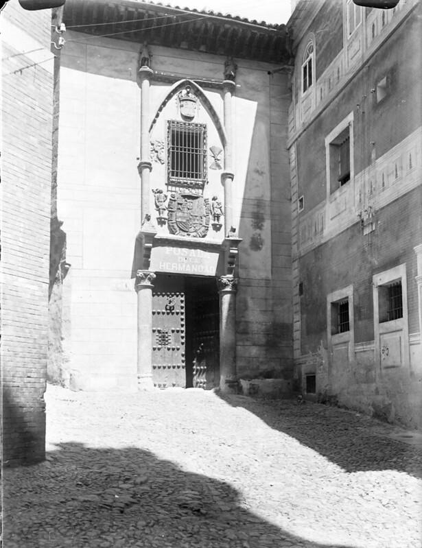Posada de la Hermandad en los años 20. Fotografía de Otto Wünderlich. © Fototeca del Patrimonio Histórico