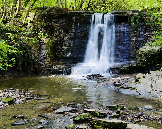 Wepre Park Waterfall   Flickr - Photo Sharing!