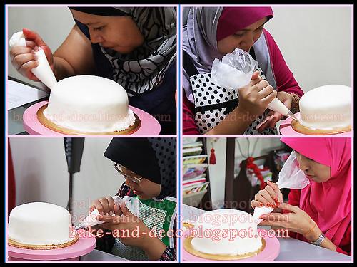 Steam Buttercream Cake ~ 14 April 2012