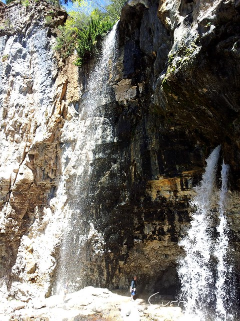 Sprouting Rock,Hanging lake, Glenwood Springs ,CO