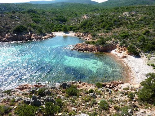 Crique d'A Tavonata et ses deux plages
