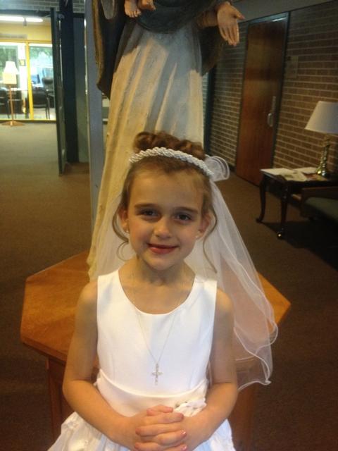 Karli's First Communion