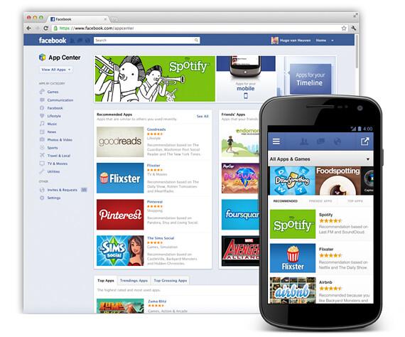 Facebook App Center ya está disponible