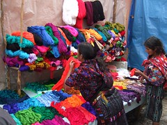 Marché à Chichicastenango