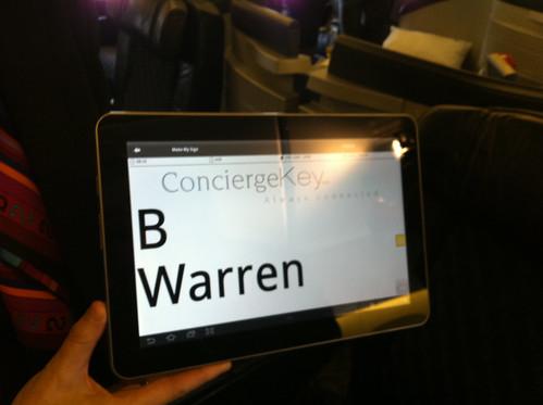American Airlines ConciergeKey Mobile App
