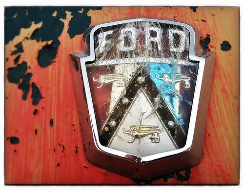 old ford by b.poulter
