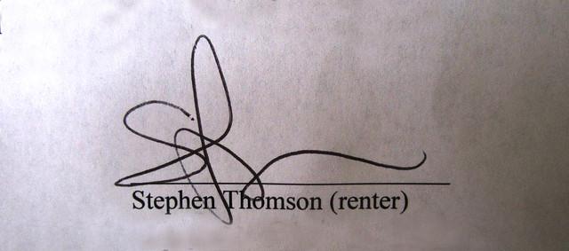 my signature (2012)