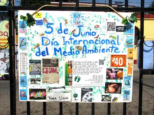 World Environment Day Foamboard 2012