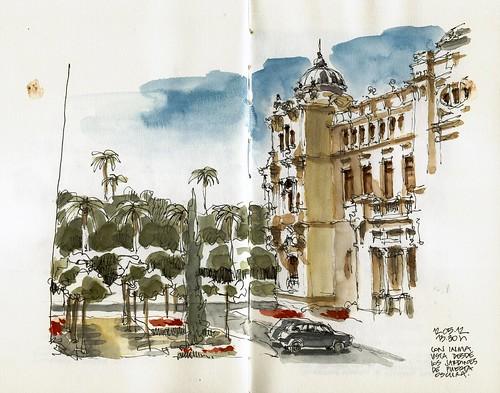 Málaga, Puerta Oscura