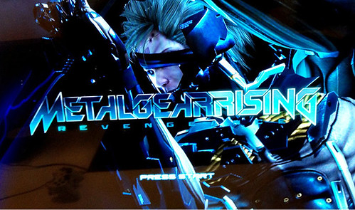 Metal Gear Rising Title Screen