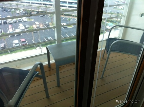 Verandah. Deck 10. Disney Dream.
