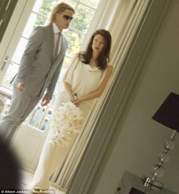 BRANGELINA WEDDING PHOTO