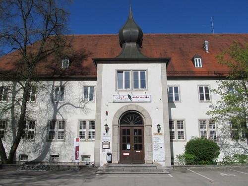 "Kulturhaus ""Abraxas"", ehemalige Reese-Kaserne Augsburg April 2012_006"
