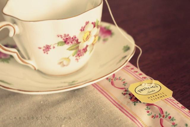Sirviendo mi Té