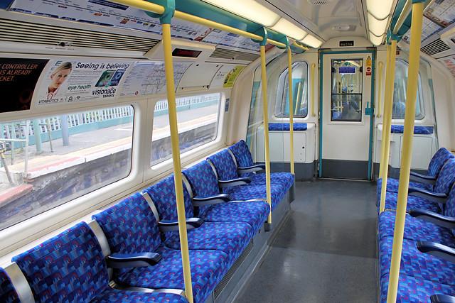 1996 tube stock flickr photo sharing for London underground moquette