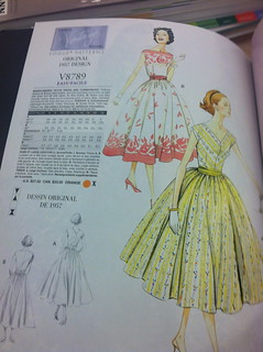 Ooh, re-issued vintage dress patterns