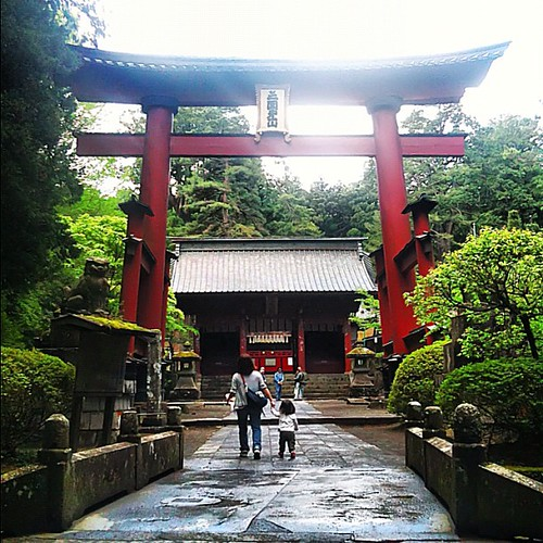 Fujiyoshida Sengen shrine, Mt. Fuji trailhead #Japan #dna2japan #gadv