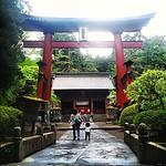 Fujiyoshida Sengen shrine, Mt. Fuji trailhead #Japan #dna2japan #gadv