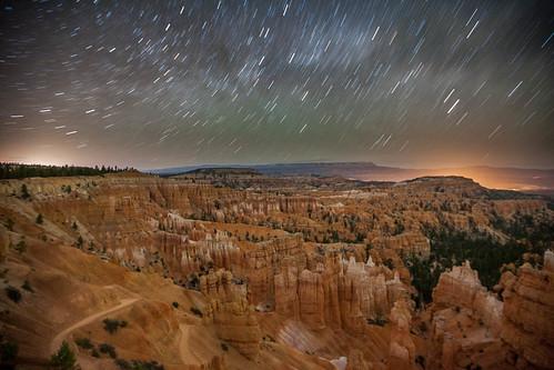 Bryce Canyon By Night