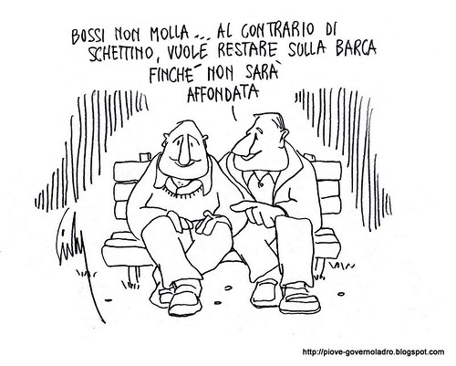 Bossi non molla by Livio Bonino
