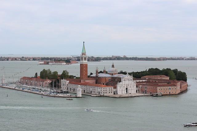 San Giorgio Maggiore island and the Monastery of San Giorgio, Venice