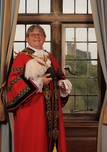 Councillor Melvyn Mottram, Mayor of Dudley