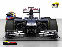 [rFactor] F1RFT 2012 Williams Rendering Front