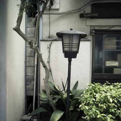 Higashi Ginza Tilting Lantern