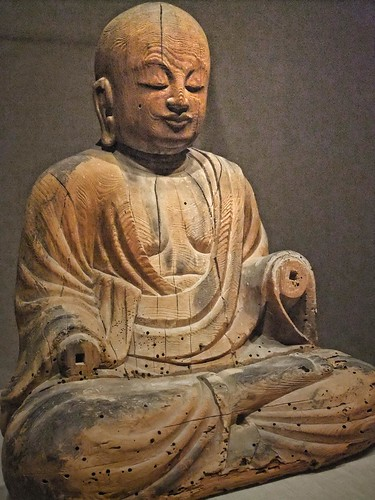 Shinto deity Sogyo Hachiman Japan Heian Period 10th century CE Wood
