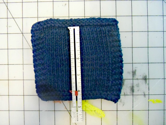 Miette Gauge Swatch