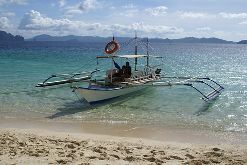 Local boat in El Nido