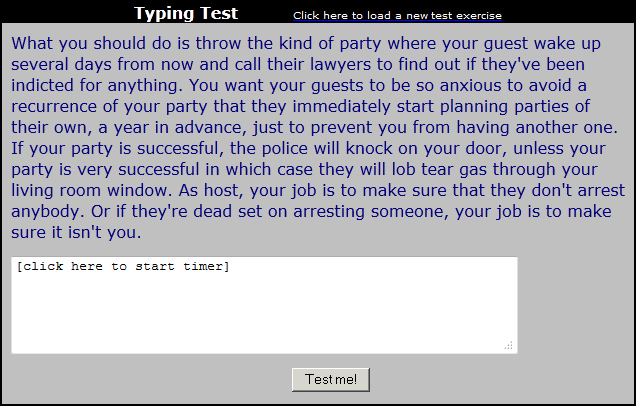 typingtest
