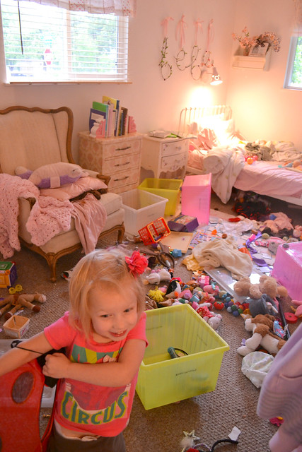 Eisley's Toy Closet Get the Stomach Flu