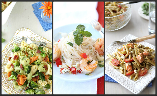 Whole Wheat Pasta Salad With Salmon, Tomatoes & Herb Dressing Recipes ...