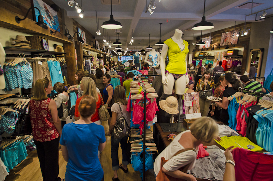Start an online clothing store. Outdoor