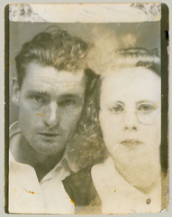 Photobooth couple